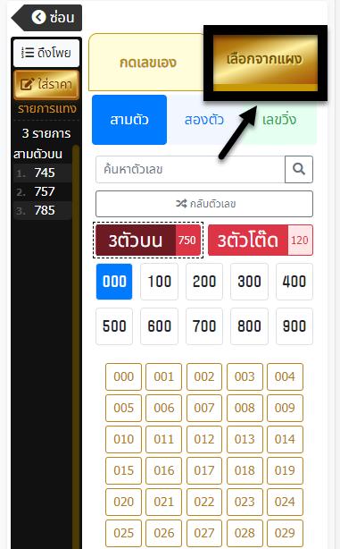 วิธีการแทงหวยรัฐบาลไทย